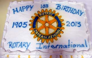 Rotary International's birthday